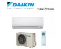 Daikin FTXS25K / RXS25L3 inverteres oldalfali klíma Hőszivattyús, Infrás 2.5 kW