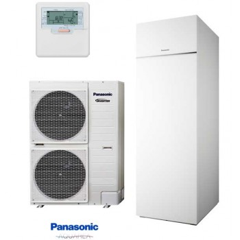 Panasonic KIT‐ADC12HE5 Aquarea All In One 1 fázisú hűtő-fűtő hőszivattyú 12kw