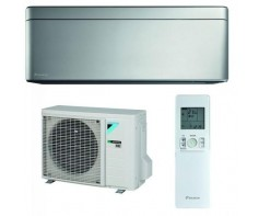 Daikin FTXA25AS / RXA25A Stylish Ezüst Inverteres Split klíma 2.5 kw