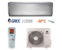 Gree GWH09UB-K3DNA4F U-Crown  Inverteres Split klíma 2, 6 kW