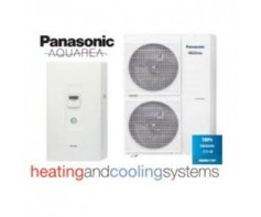 Panasonic KIT-WC16H6E5 High Performance Egyfázisú hőszivattyú 16KW