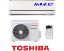 Toshiba RAS-107SKV-E7 / RAS-107SAV-E6 AvAnt 7 Inverteres Split klíma 2.5KW