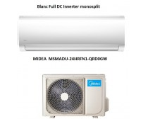 Midea MSMADU-24HRFN1-QRD0GW Blanc Full DC Inverter monosplit 7.1KW