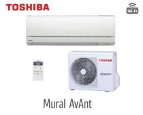 "Toshiba RAS-10BKV-E/RAS-10BAV-E MIRAI ""CLASSIC"" MODEL Oldalfali Split klíma csomag 2, 5 kW"